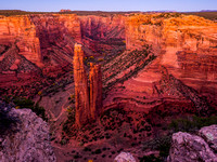 Spider Rock, Canyon De Chelley