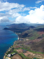 Oahu from the air