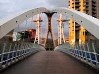 Salford Quays Lift Bridge